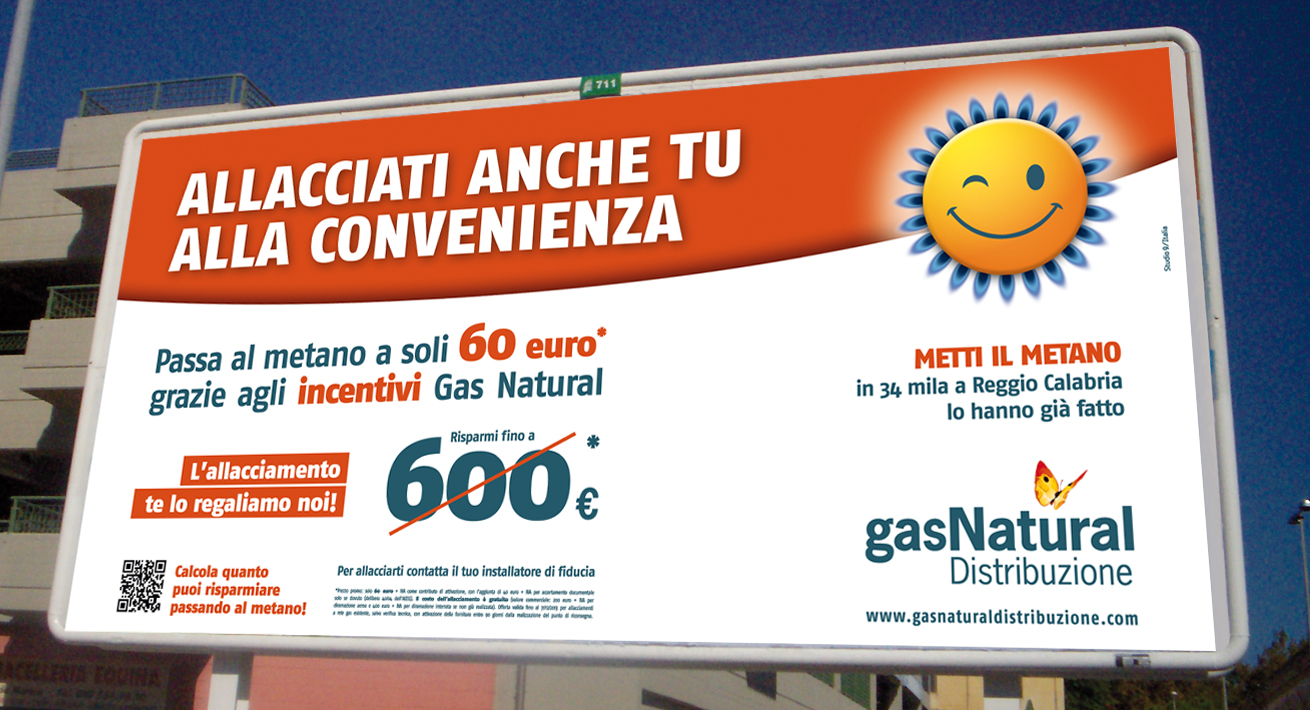 Campagna smile Gas Natural Distribuzione