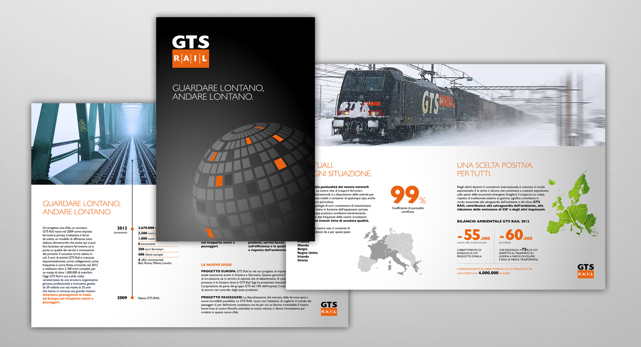 Corporate brochure - GTS Rail