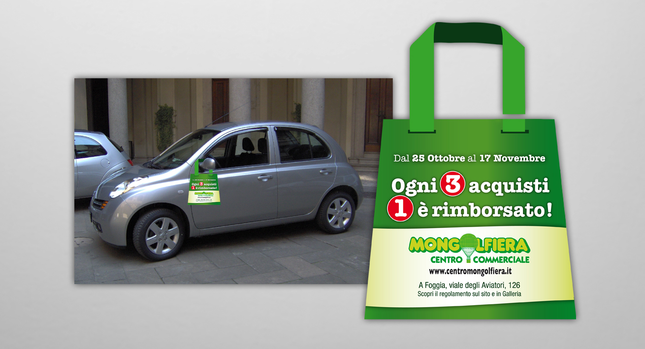 Promo street marketing - C.C. Mongolfiera Foggia
