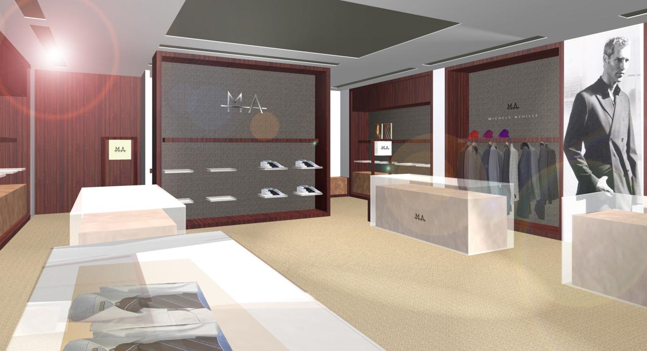 Store Concept per il mercato cinese - Michele Achille