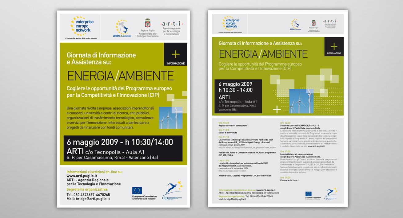 Evento 6 Maggio 2009 Energia/Ambiente - ARTI