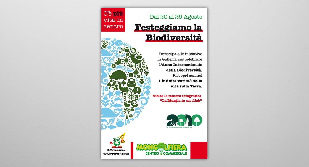 Anno internazionale della Biodiversità - Centro Commerciale Mongolfiera