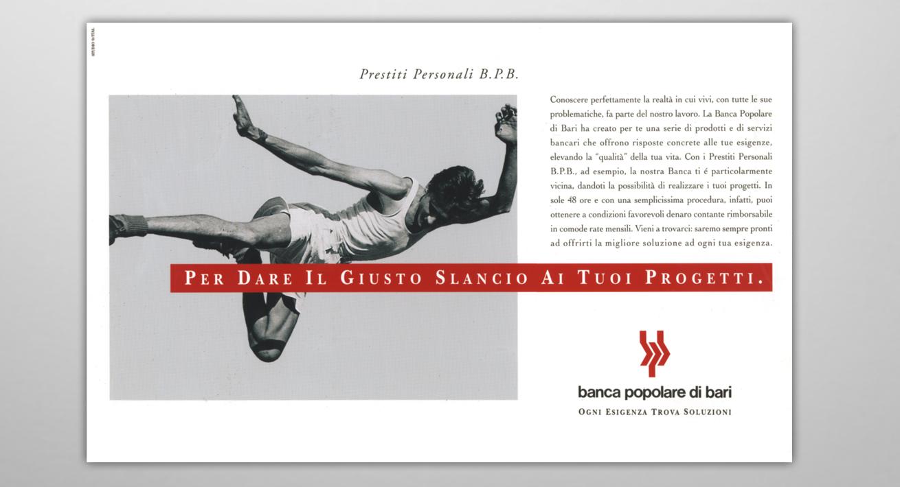 Comunicazione Finance Banca Popolare di Bari