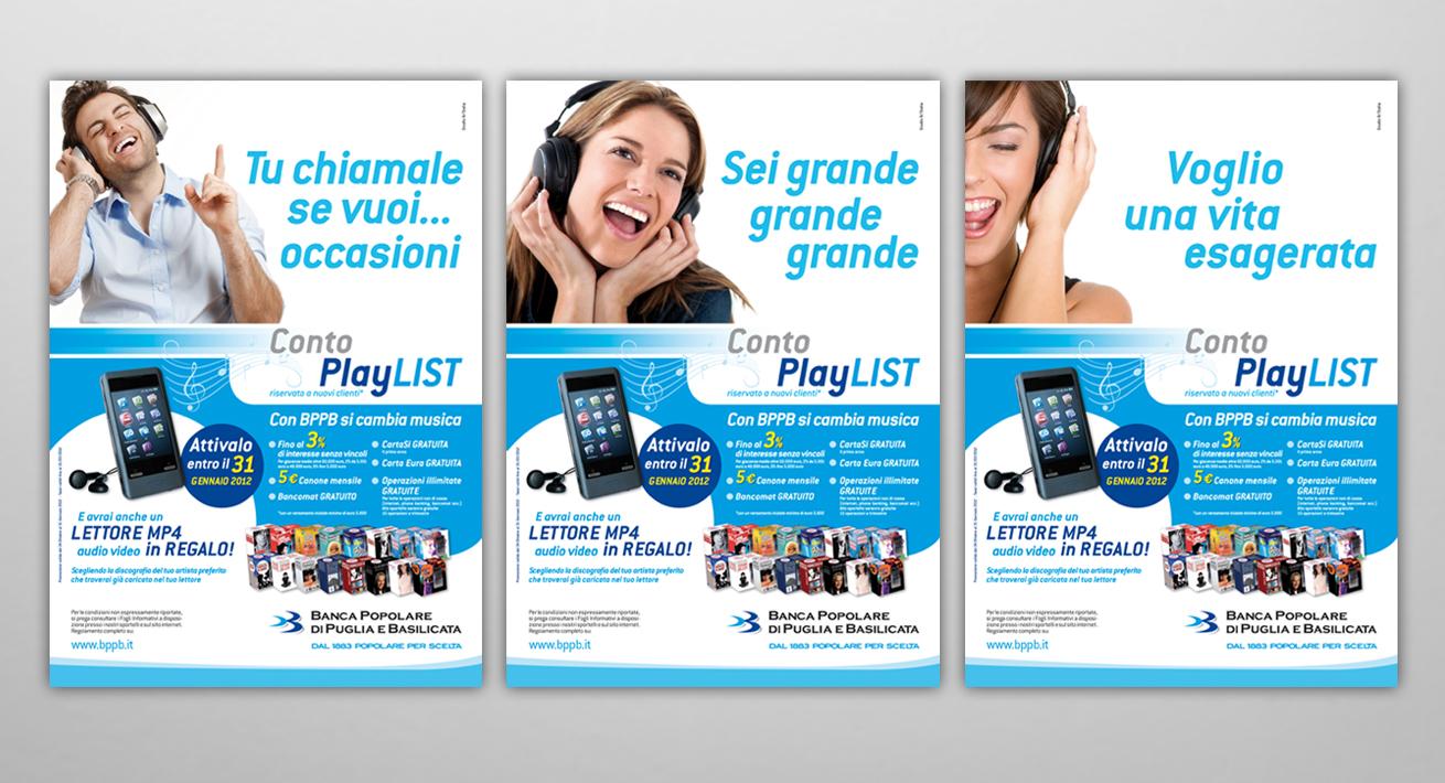 Campagna Conto PlayList BPPB
