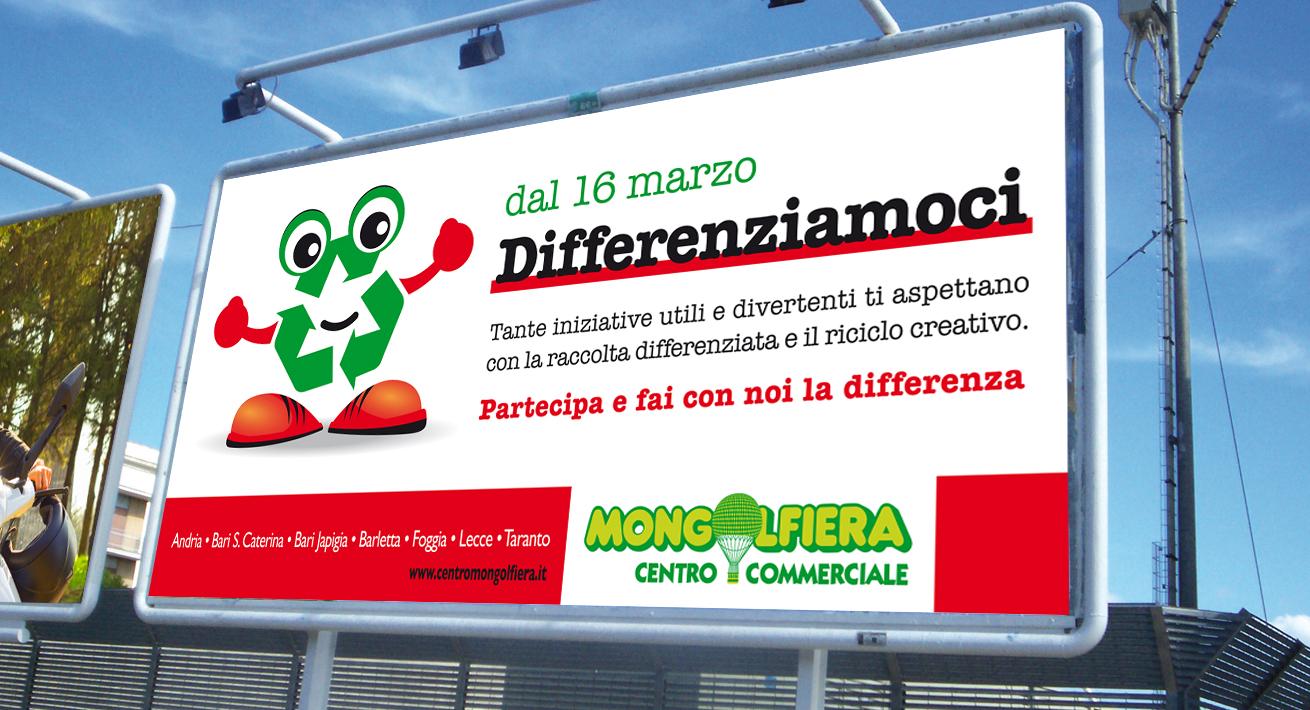 Progetto Differenziamoci - Centro Commerciale Mongolfiera