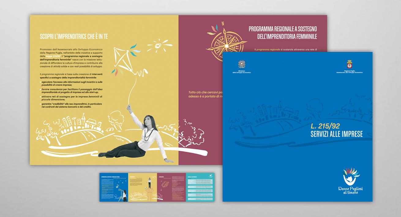 Campagna d'informazione sulla L. 215/92 - Assessorato allo Sviluppo Economico / Regione Puglia