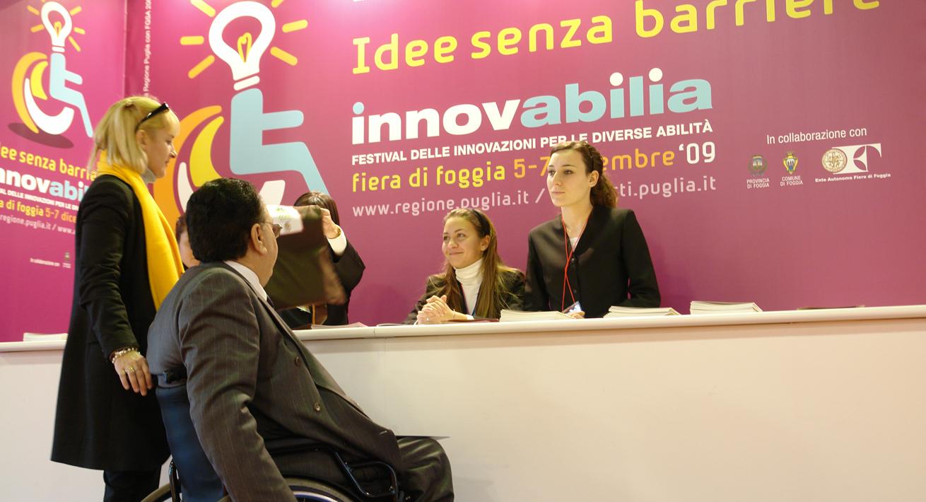Evento dedicato alla disabilità - Innovabilia / Regione Puglia
