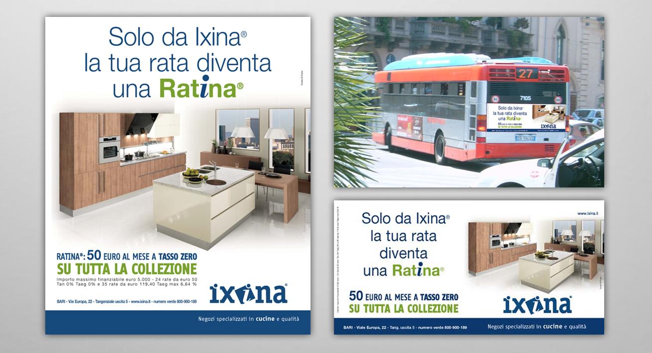 "Campagna promozionale ""Ratina"" Ixina"