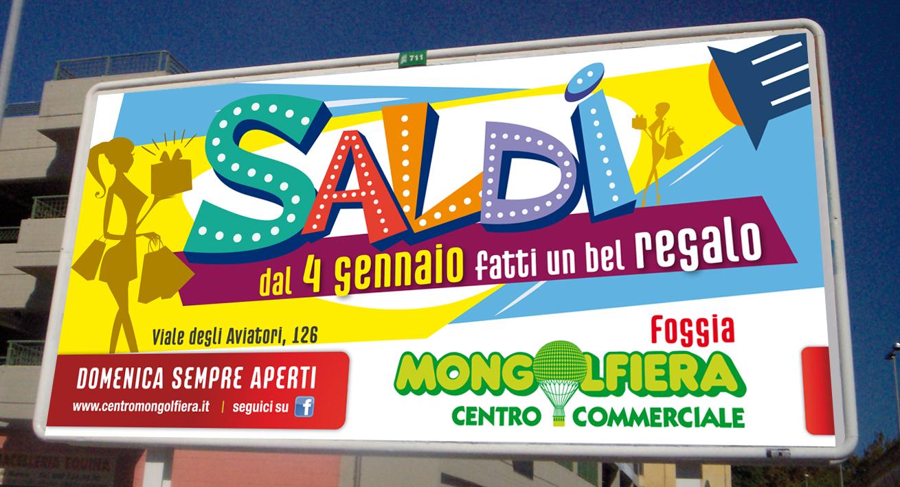 Campagna saldi invernali 2014 Centro Commerciale Mongolfiera