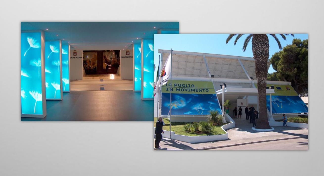 Stand istituzionali - POR Puglia / Regione Puglia