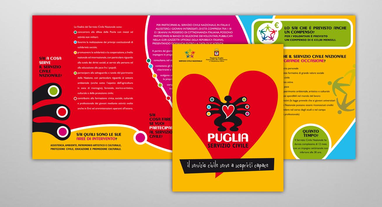 Campagna recruiting - Servizio Civile / Regione Puglia