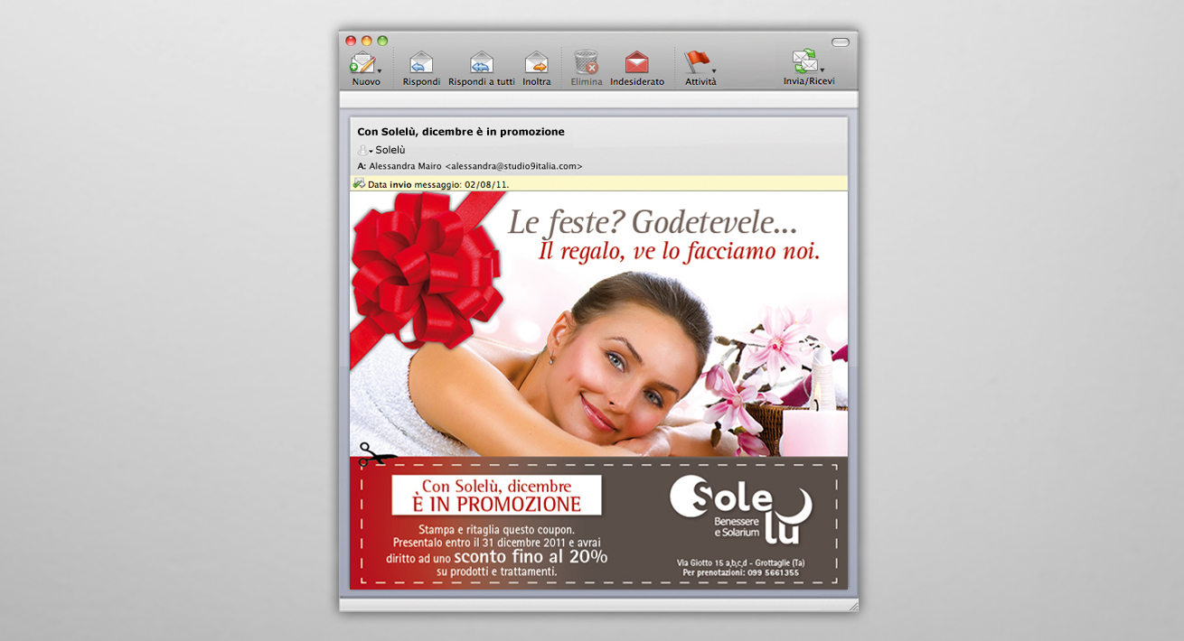 Direct Email marketing Solelù