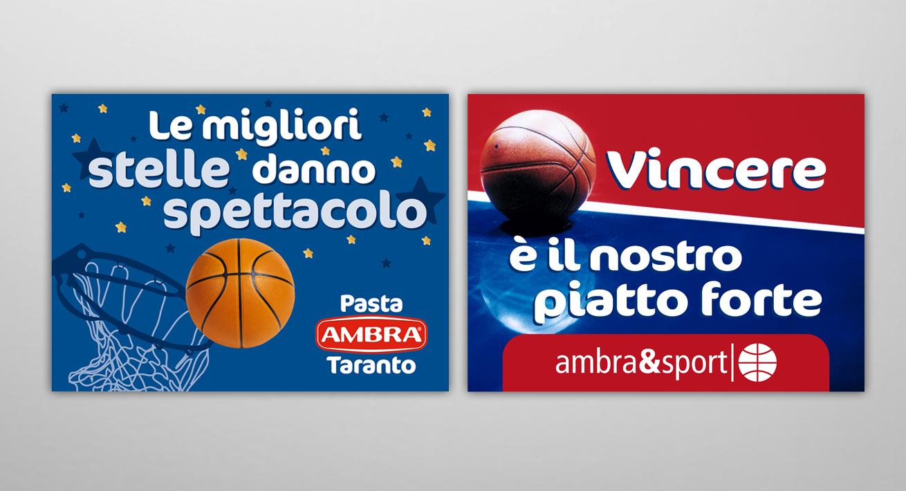 Sponsorizzazioni sportive - Pasta Ambra
