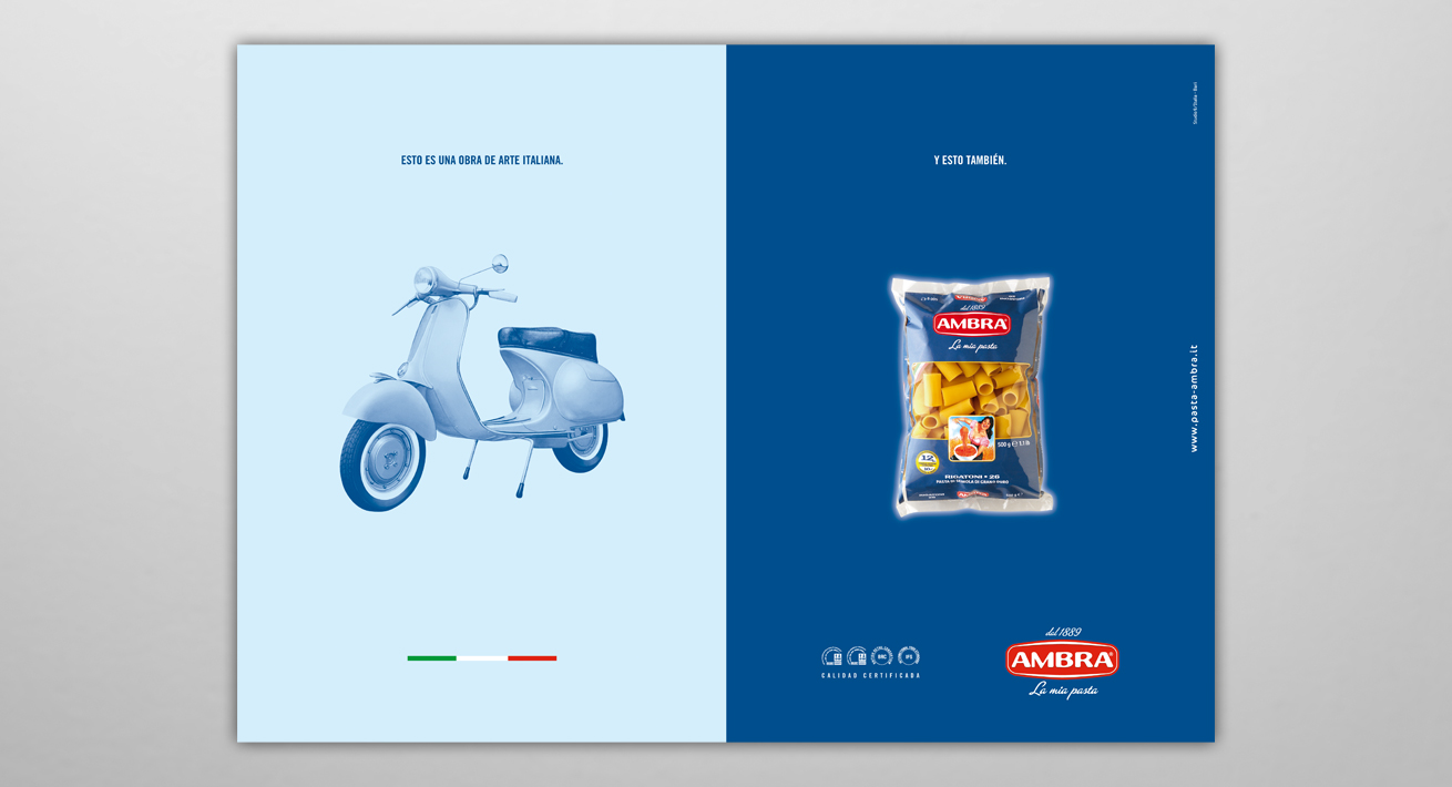 Advertising - Pasta Ambra