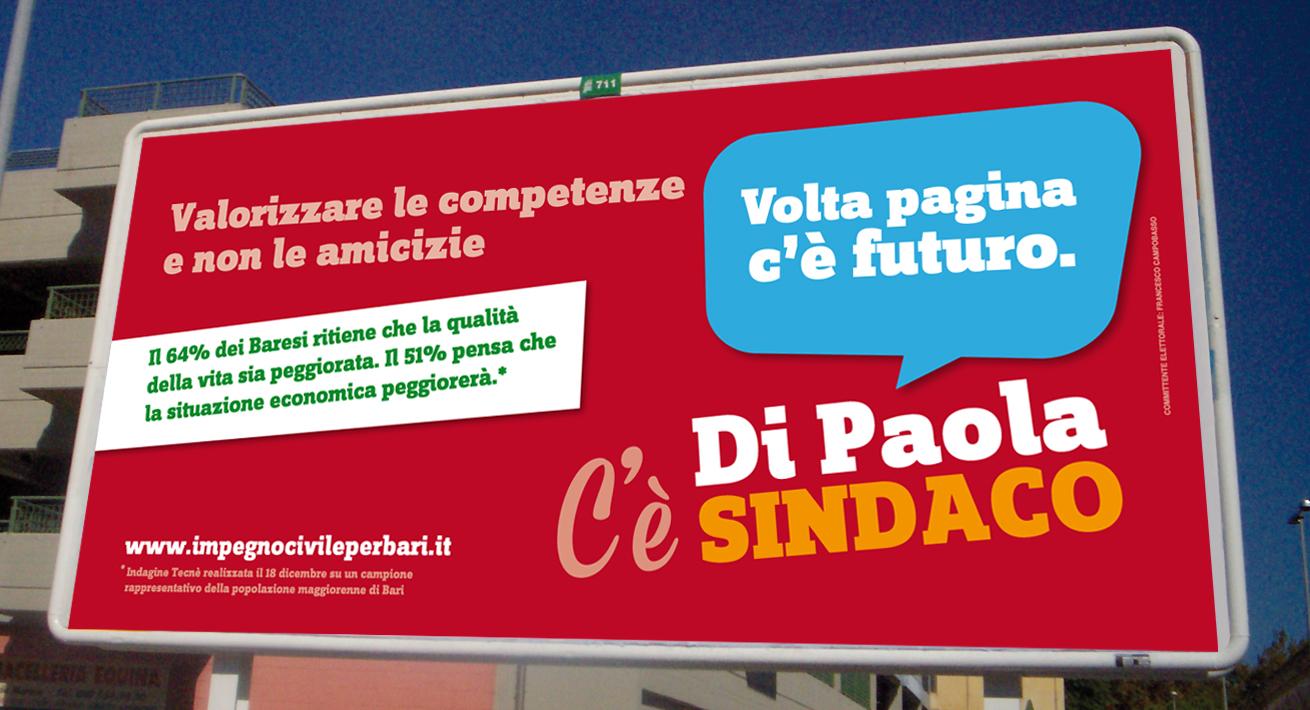 Campagna di comunicazione - Candidato Di Paola