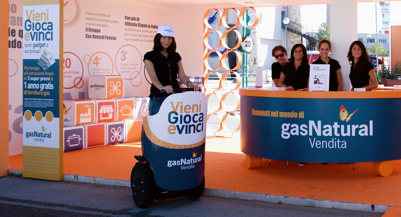 Evento promozionale Fiera del Levante - Gas Natural Vendita