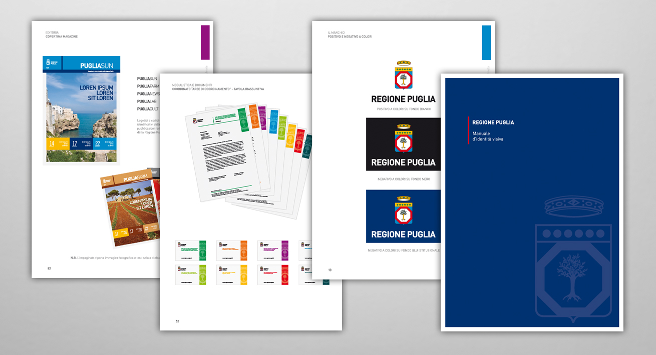 Manuale d'identità visiva - Regione Puglia