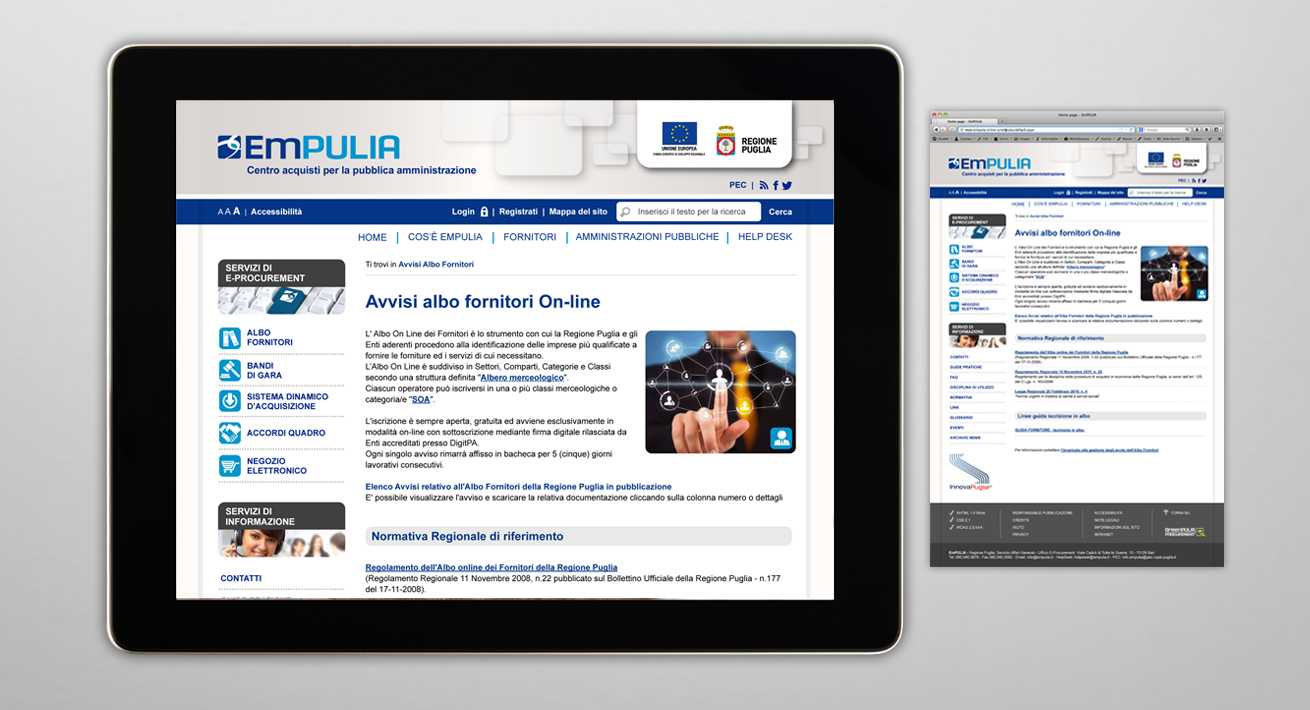 Web Site - EmPULIA