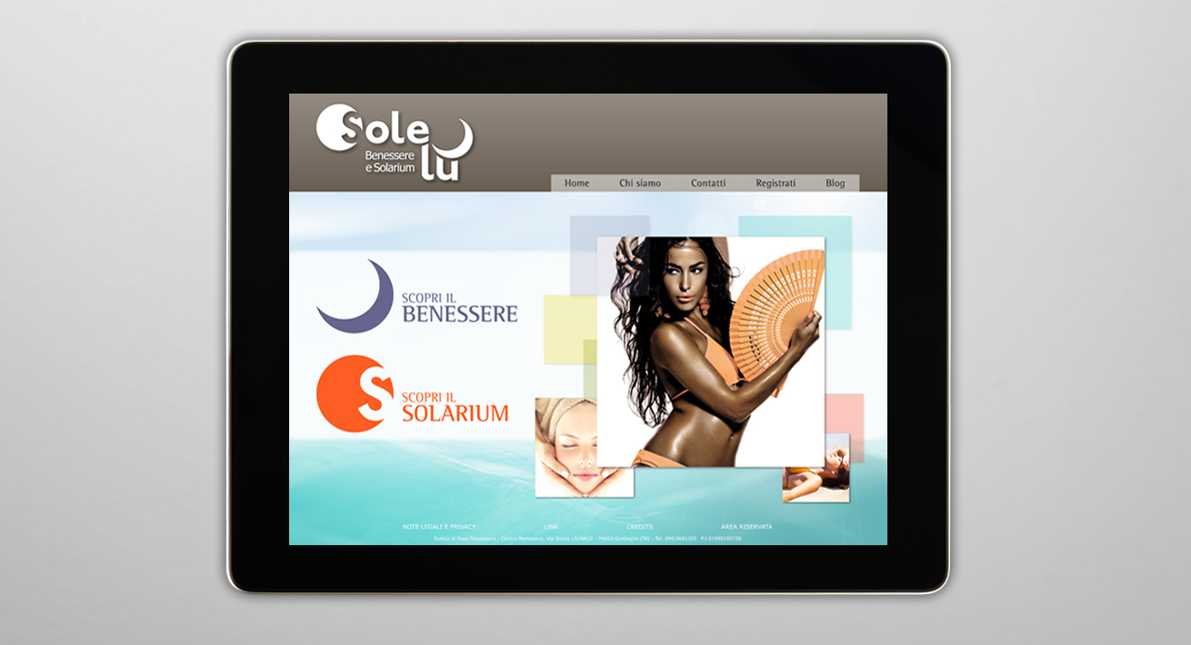 Web Site - Solelù