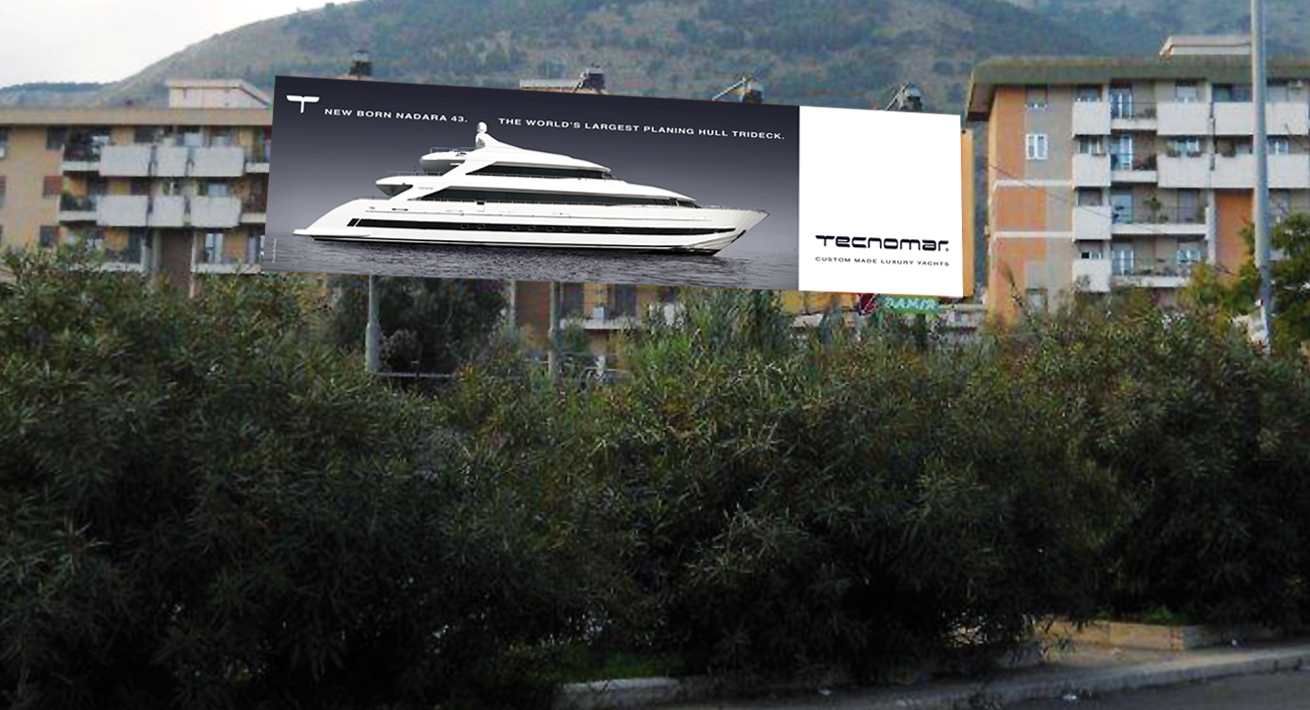 Campagna lancio Nadara 43 - Tecnomar
