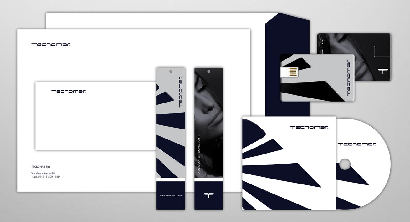 Visual identity e immagine coordinata - Tecnomar